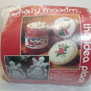 Mary Maxim Christmas Horse and Cutter Needlepoint
